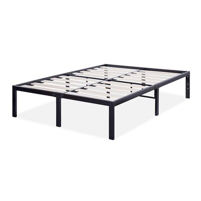 T-3000 Ultra Wood Slat Bed Frame Size: Queen