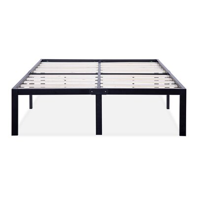 T-3000 Ultra Wood Slat Bed Frame Size: Full