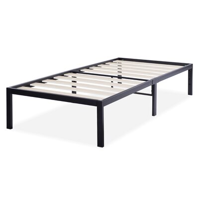 T-3000 Ultra Wood Slat Bed Frame Size: Twin