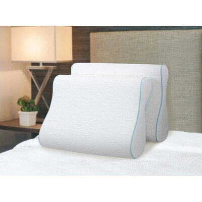Comforest Contour Dual Sided Memory Foam Pillow