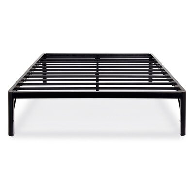 14 S3500 Dura Metal Steel Slat Bed Frame Size: Full