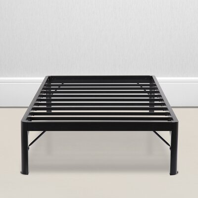 Wilhoit Steel Slat Bed Frame Size: Twin