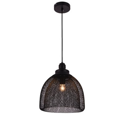 Warren 1-Light Inverted Pendant Size: 73.5 H x 11 W x 11 D