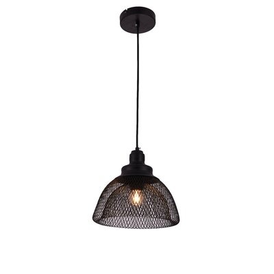 Warren 1-Light Inverted Pendant Size: 70 H x 10 W x 10 D
