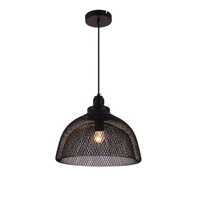 Warren 1-Light Inverted Pendant Size: 72 H x 13.5 W x 13.5 D