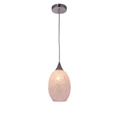 Glacia 1-Light Mini Pendant