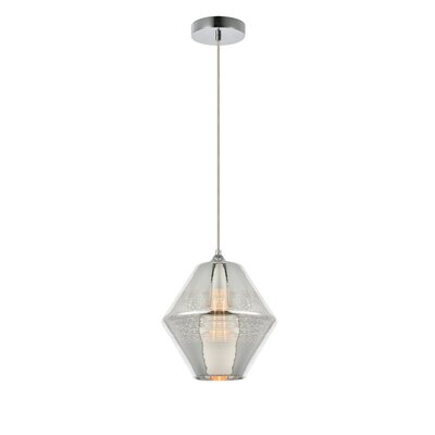 Reflection 1-Light Mini Pendant Finish: Chrome