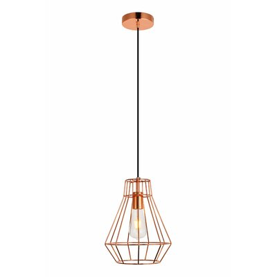 Mullikin 1-Light Mini Pendant Finish: Copper