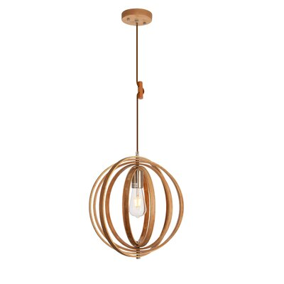 Warnick 1-Light Geometric Pendant
