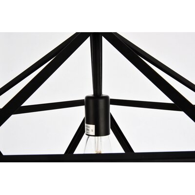 Mullings 1-Light Geometric Pendant