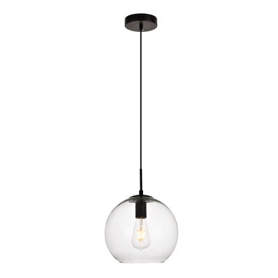 Mullinix 1-Light Globe Pendant Size: 70 H x 9.8 W x 9.8 D