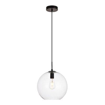 Mullinix 1-Light Globe Pendant Size: 71 H x 11.8 W x 11.8 D