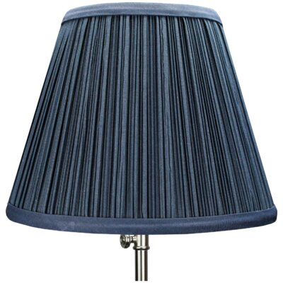 9 Linen Empire Lamp Shade Color: Navy