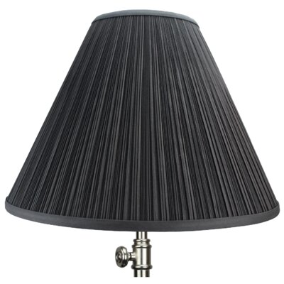 16 Empire Lamp Shade Color: Black