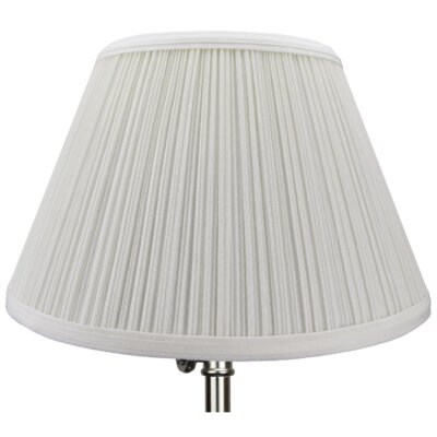 12 Linen Empire Lamp Shade Color: Off White