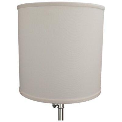 12 Linen Drum Lamp Shade Color: Cream