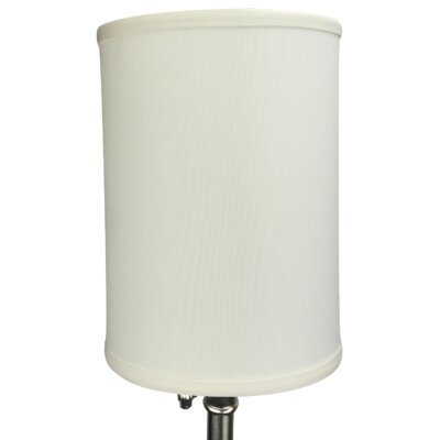 8 Linen Drum Lamp Shade Color: Cream
