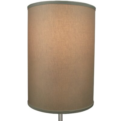 12 Linen Drum Lamp Shade Color: Stone