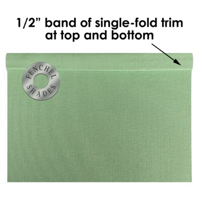 9 Linen Rectangular Lamp Shade Color: Celadon