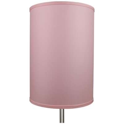 12 Linen Drum Lamp Shade Color: Peony