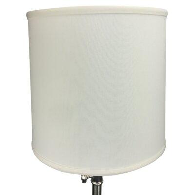 13 Linen Drum Lamp Shade Color: Cream