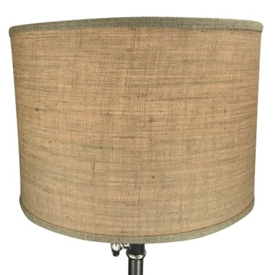 16 Burlap Drum Lamp Shade Color: Natural