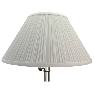 14 Empire Lamp Shade Color: Cream
