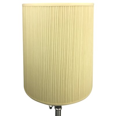 15 Linen Drum Lamp Shade Color: Bone