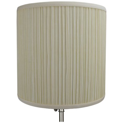 10 Linen Drum Lamp Shade Color: Bone