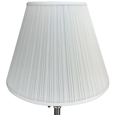 16 Empire Lamp Shade Color: White
