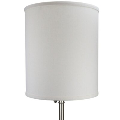 12 Linen Drum Lamp Shade Color: Beige