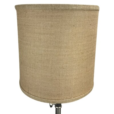 10 Burlap Drum Lamp Shade Color: Natural