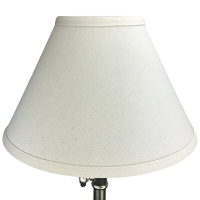 12 Linen Empire Lamp Shade Color: Beige