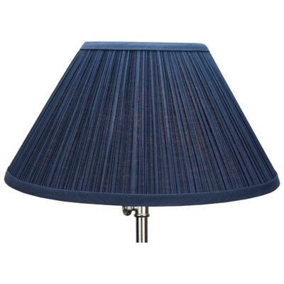 14 Empire Lamp Shade Color: Navy