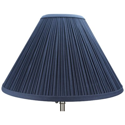 15 Empire Lamp Shade Color: Navy