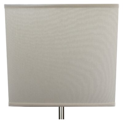 9 Linen Rectangular Lamp Shade Color: Cream