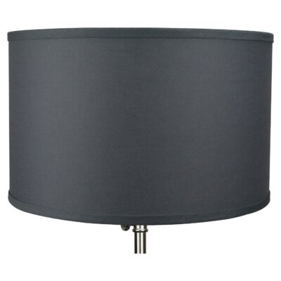 16 Linen Drum Lamp Shade Color: Cedar