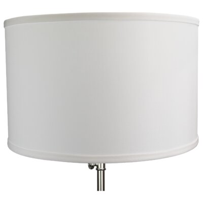 16 Linen Drum Lamp Shade Color: Graphite