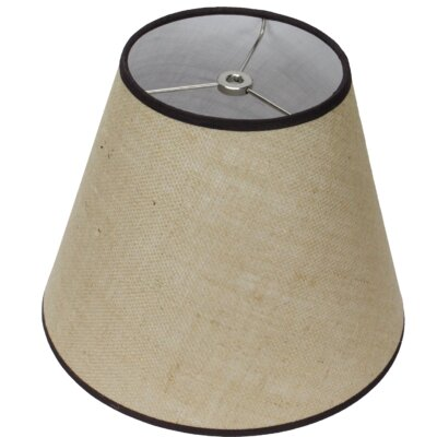 11 Burlap Empire Lamp Shade