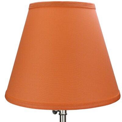 11 Linen Empire Lamp Shade Color: Carrot