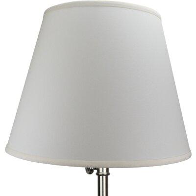 17 Linen Empire Lamp Shade Color: Parchment