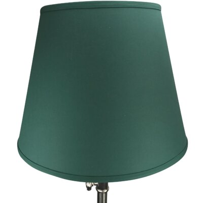 17 Linen Empire Lamp Shade Color: Hunter Green