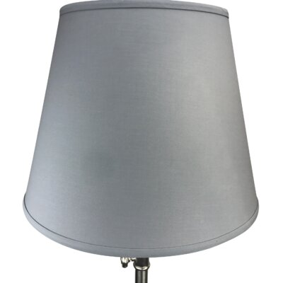 17 Linen Empire Lamp Shade Color: Glacier Blue