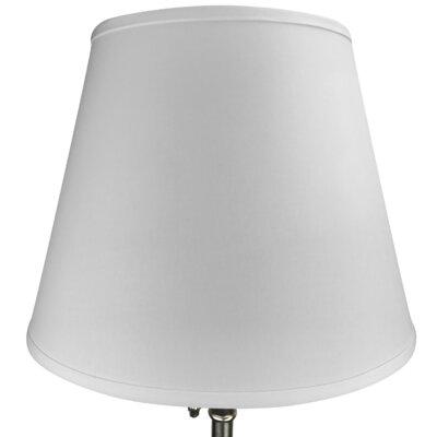 17 Linen Empire Lamp Shade Color: White