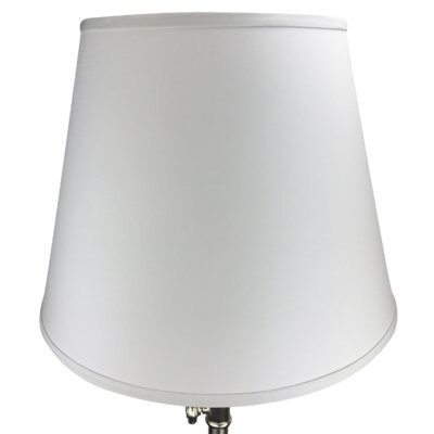 17 Linen Empire Lamp Shade Color: Silver