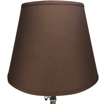 17 Linen Empire Lamp Shade Color: Coffee