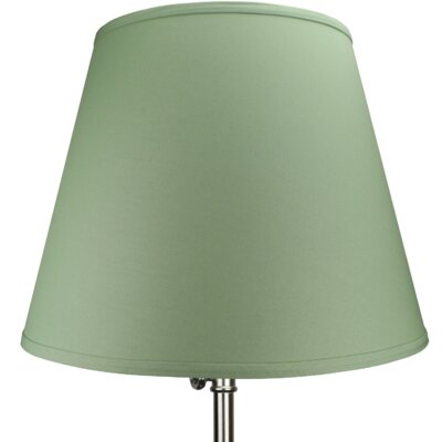 17 Linen Empire Lamp Shade Color: Celadon