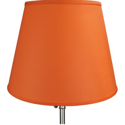 17 Linen Empire Lamp Shade Color: Carrot