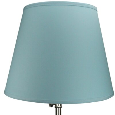 17 Linen Empire Lamp Shade Color: Robin Egg