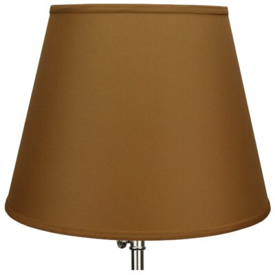 17 Linen Empire Lamp Shade Color: Earth